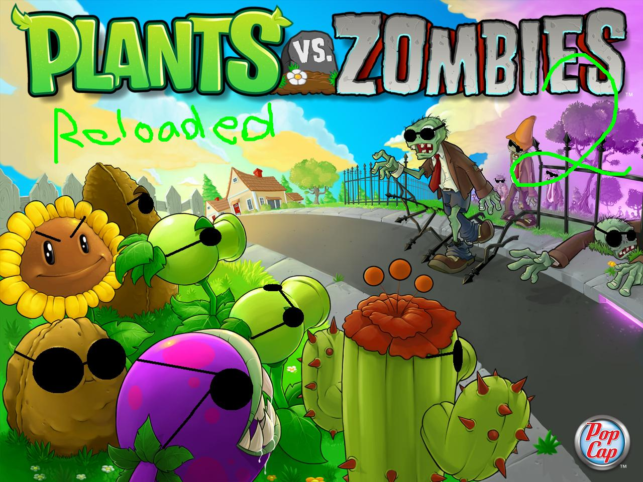 La secuela de plants vs zombies nos llegara a principios for Cuartos decorados de plants vs zombies