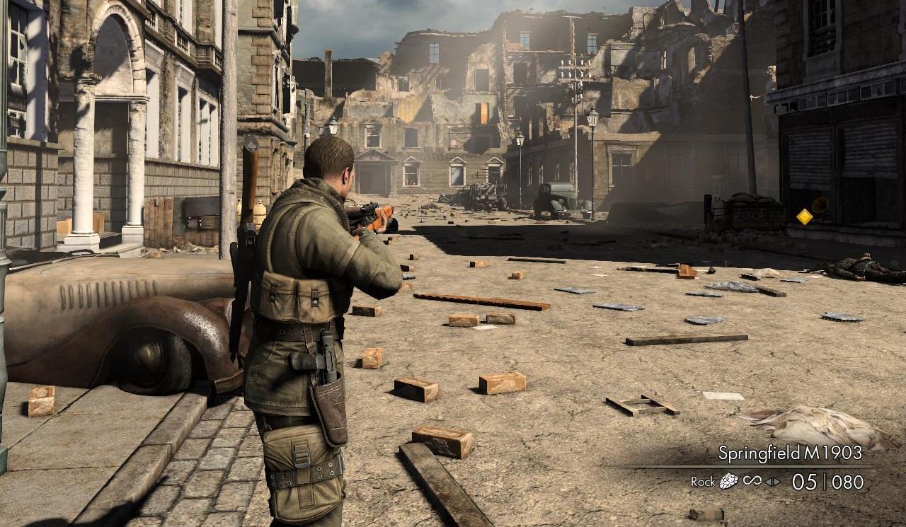 Rumor: ¿Llegara una versión de Sniper Elite V2 para el Wii U?