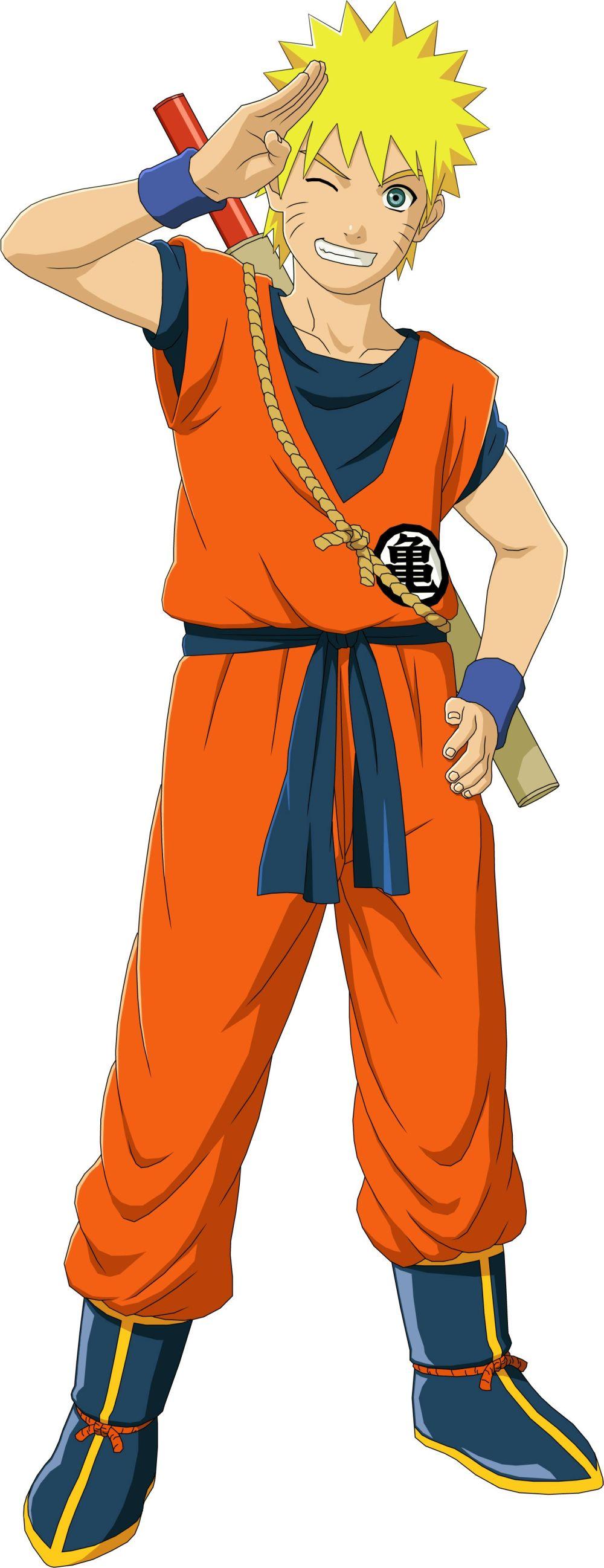 Naruto Se Podra Vestir Como Goku En Naruto Shippuden