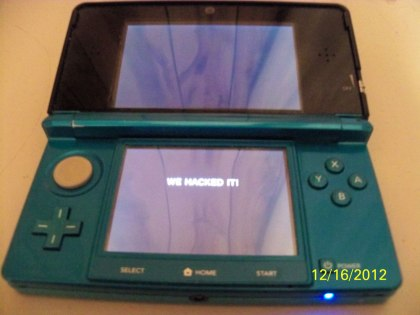 3DS Hacked