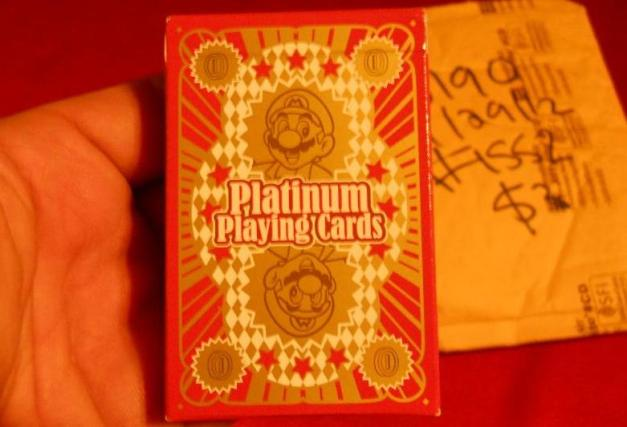 Club Nintendo - Platinum Playing Cards (13)