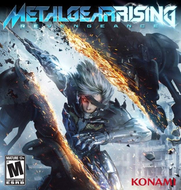 Metal Gear Rising Revengance - Box Art
