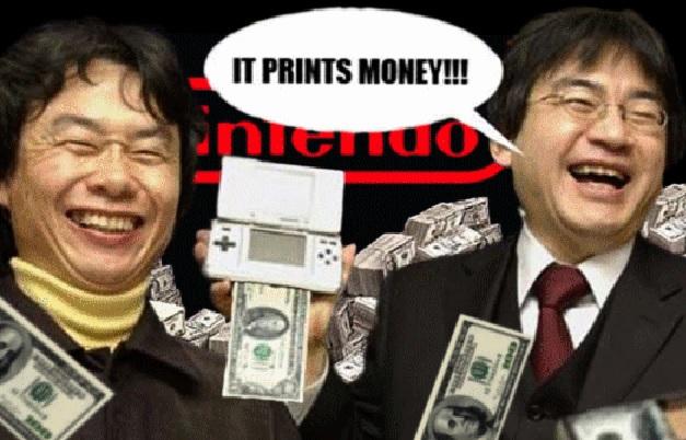 Nintendo DS - IT PRINTS MONEY
