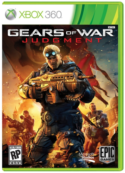 Gears of War Judgment - Boxart