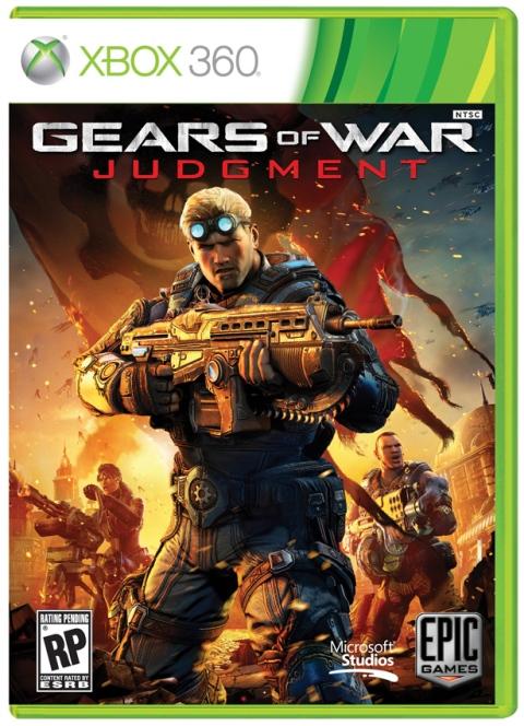 Gears of War Judgment - Boxart