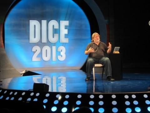 Gabe Newell - Dice 2013