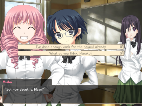 Katawa Shoujo - Chicas