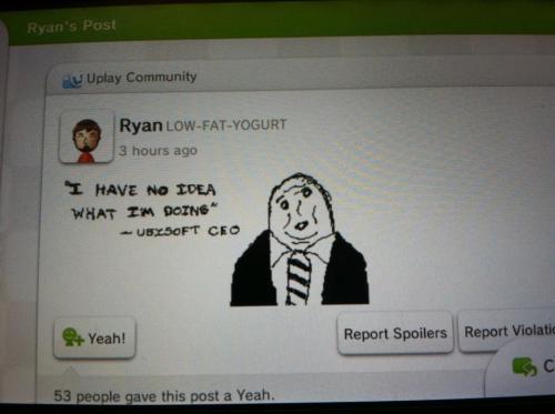 Miiverse quejas a Ubisoft