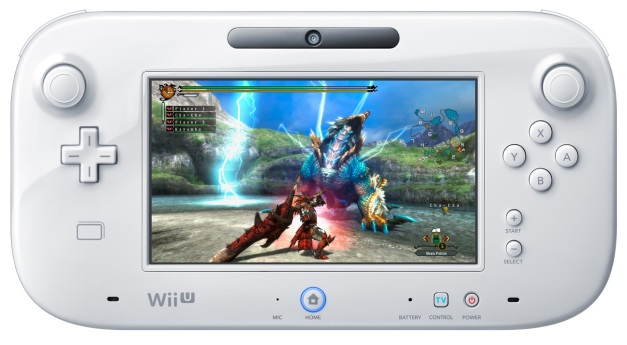 Monster Hunter 3 Ultimate - Wii U GamePad