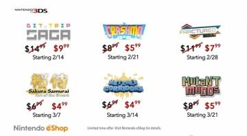 Nintendo 3DS eShop - Descuentos