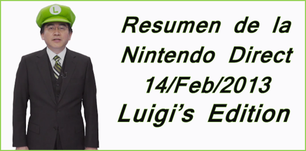 Nintendo Direct Luigi's Edition