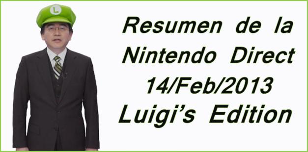 Nintendo Direct Luigi's Edition