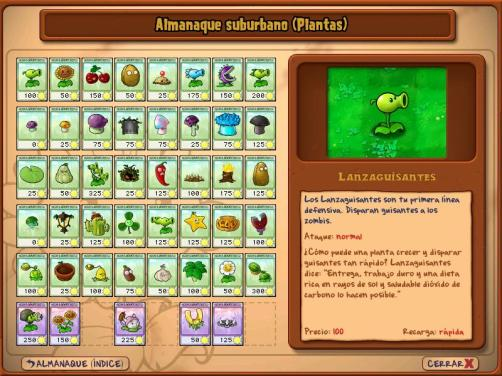 Plants vs Zombies - Almanaque suburbano