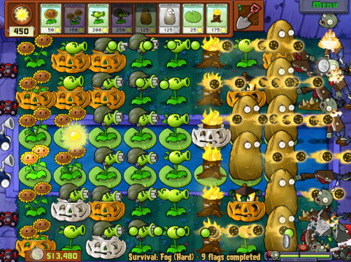 Plants vs Zombies - Gameplay
