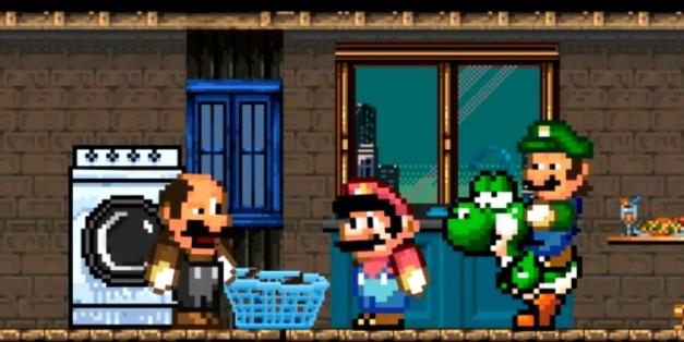 Giuseppe el tercero de los hermanos Mario