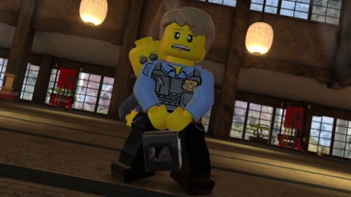 Lego City Undercover - Humor