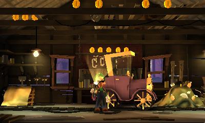 Luigi's Mansion Dark Moon - Exploracion