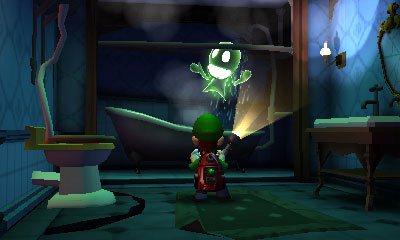 Luigi's Mansion Dark Moon - Fantasma