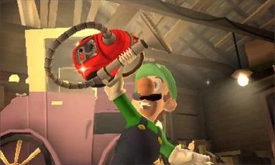 Luigi's Mansion Dark Moon - Poltergust 5000