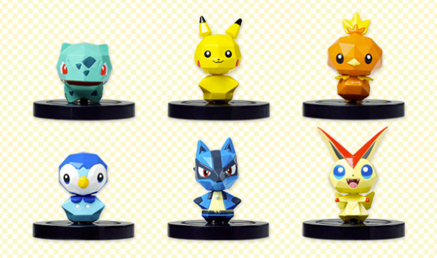 Pokémon Rumble U - Figuritas