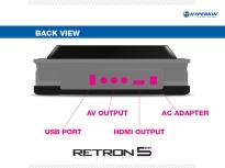 RetroN 5 - Consola por atras