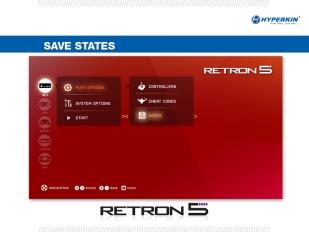 RetroN 5 - Intefaz
