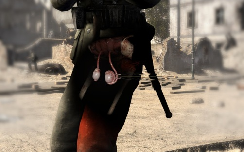 Sniper Elite V2 - Nut Shot