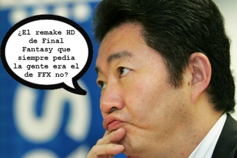 Yoichi Wada - Ex-presidente Square Enix