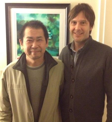 Yu Suzuki y Mark Cerny