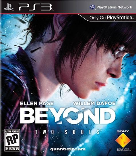 Beyond Two Souls - Box art (Portada)