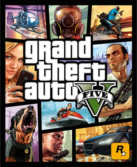 Grand Theft Auto V - Portada