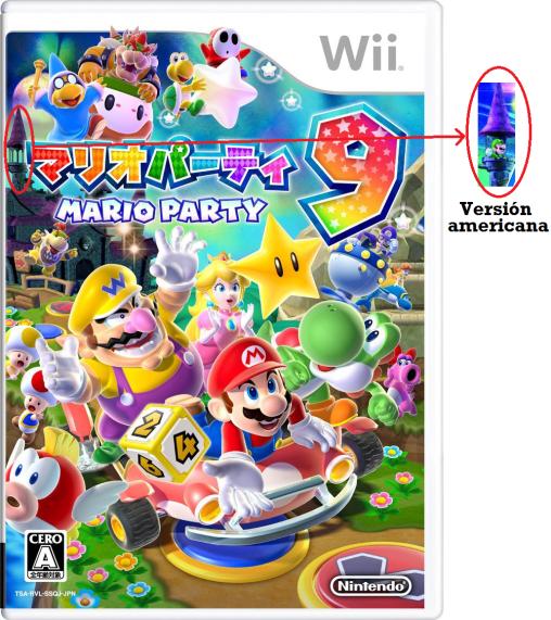 Mario Party 9 -  Luigi