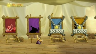 Rayman Legends Challenges App - Personajes desbloqueables
