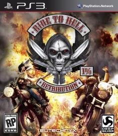 Ride to Hell Retribution - Box art PS3
