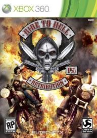 Ride to Hell Retribution - Box art Xbox 360