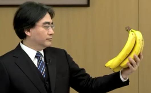 Satoru Iwata - Nintendo Direct - Bananas