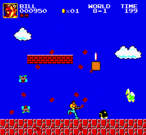 Super Mario Bros Crossover 3.0 - Bill Rizer