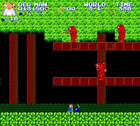 Super Mario Bros Crossover 3.0 - Old Man