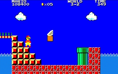 Super Mario Bros Special - Item para volar
