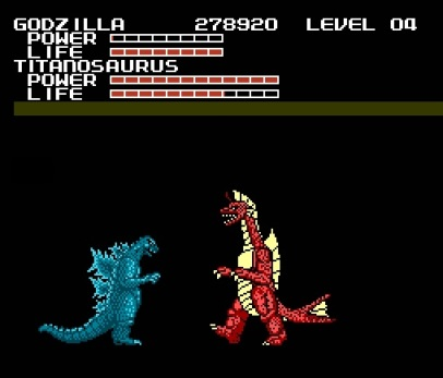 Godzilla Monster of Monsters - NES