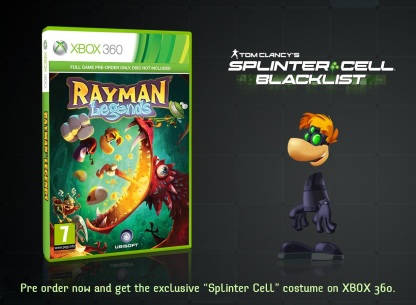 Rayman Legends preorden - Xbox 360