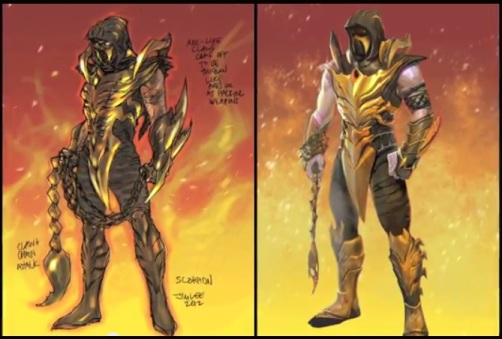 Injustice Gods Among Us - Scorpion DLC
