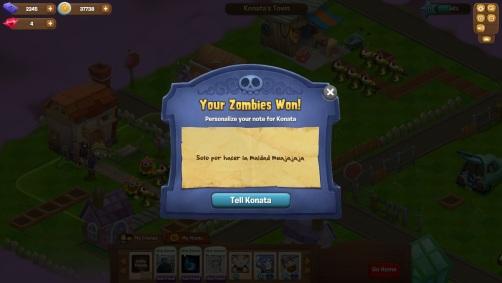 Plants vs Zombies Adventures - Atacar amigos