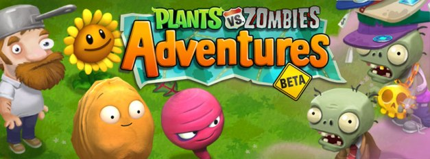 Plants vs Zombies Adventures - Logo