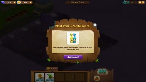 Plants vs Zombies Adventures - Rociadores
