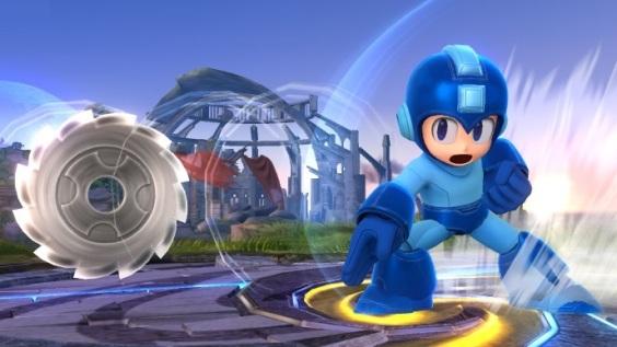Super Smash Bros Wii U - Mega Man