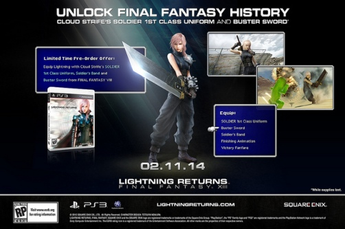 Lightning Returns Final Fantasy XIII - Preorden