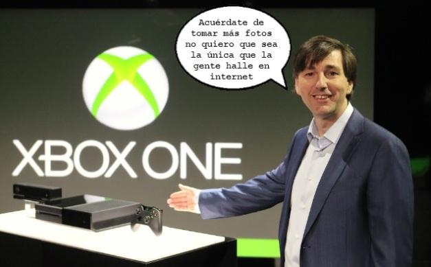 Lo que le dijo Don Mattrick al fotógrafo en la presentación del Xbox One