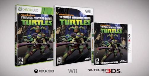 Nickelodeon Teenage Mutant Ninja Turtles - Box art