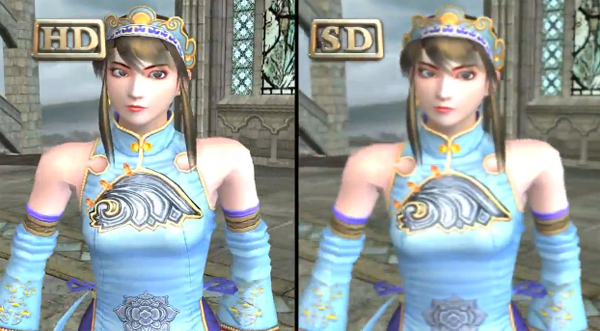 Soul Calibur II HD Online - Comparacion